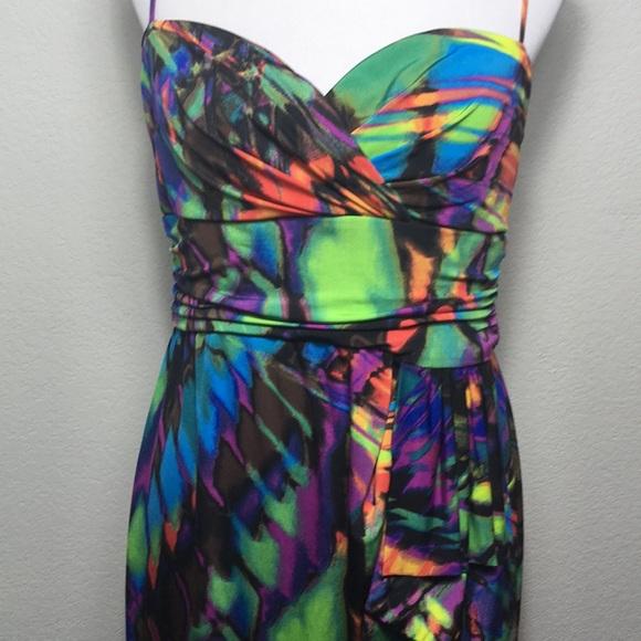 Bisou Bisou Dresses Multi Color Formal Dress Poshmark